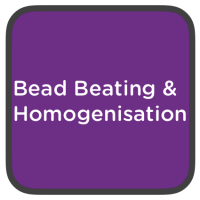 bead beating and homogenisation