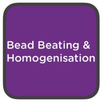 bead beating and homogenisation