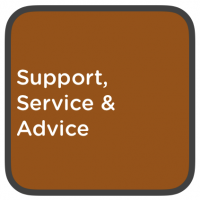 support, service & advice